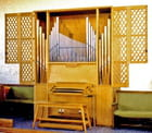 Palaiseau, Église réformée, le petit orgue par Jean Claude ALLIN sur L'Internaute
