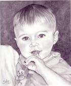 Portrait bébé par sylvie rigaud sur L'Internaute