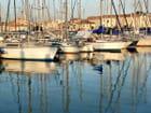 voiliers au port - Huguette Roman
