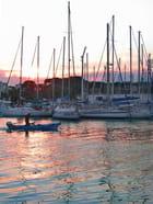 Retour au port - Huguette Roman