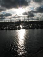 Cherbourg au soleil couchant - Ginette Lebouteiller