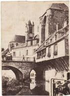 Le pont de pierre, l'église, le chateau à Moret (77) - Jean-Marie Séjourné