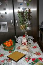 Les décorations de table avec les mandarines de Noêl par Martine BOUSSAUD sur L'Internaute