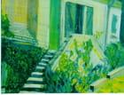 L\'escalier - Annette BLOCH-JAMBET