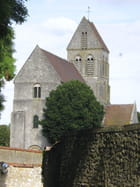 Une église de campagne - gilberte Touret