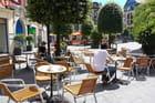 Terrasse à Rouen -