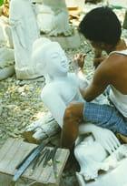 Mandalay  sculpture sur pierre par Jean DUC sur L'Internaute