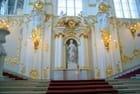 l'escalier d'honneur, statue de la Justice - Genevieve LAPOUX