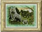 Tigre blanc et son petit - philippe fasquelle