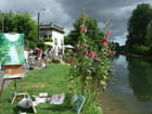 Peinture au bord de l\'eau par Marie MINOZA sur L'Internaute