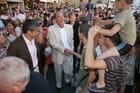 Bain de foule pour le Président - Hervé LILLINI