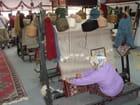 Fabrication de tapis en laine - Sylvie Vattier