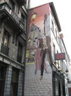 Peinture murale de rue par Georgina VANDERMOSTEN sur L'Internaute