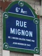 Rue Mignon -