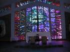 Vitrail de l'église de Hell-Bourg par Evelyne TAISNE sur L'Internaute