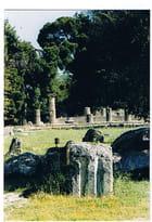 Les vestiges du temple - Genevieve LAPOUX