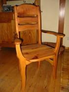 Chaise en cormier - Fabrice Varinot
