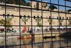 vue des quais du port de La Valette - Genevieve LAPOUX
