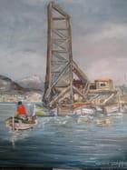 Le pont transbordeur (La Seyne sur Mer) - gerard deymonaz
