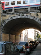 Pont de chemin de fer - Georgina VANDERMOSTEN