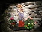 Statue de la vierge avec l'Enfant Jésus - Jacqueline DUBOIS