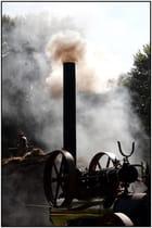Moisson à la vapeur -