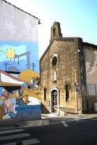 Centre ville - Couleurs Mistral - Ruelles et places d'aujourd'hui - Chapelle des Pénitents Noirs - Josiane Karanian