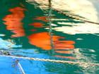Reflets dans le port - Serge AGOMBART