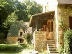 terrasse maison périgordine - jacqueline gerodou
