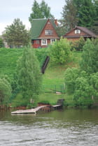maison au bord du canal - Genevieve LAPOUX