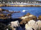 """sur le chemin côtier """"la Garoupe"""" qui longe le Cap d'Antibes - christiane lisan"""