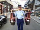"""Pélerinage militaire de LOURDES - Gendarme """"sonneur de cloches"""". par jean-marc puech sur L'Internaute"""