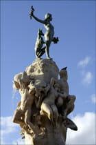 Détail fontaine des 4 vallées - Pierre BACON