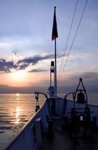 Coucher de soleil sur le Lac Léman -