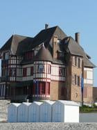 Manoir et cabines de plage - Marie-Anne GERBE