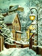 Le village en parure d'hiver - philippe fasquelle