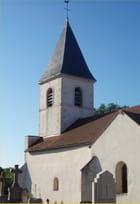 Eglise de campagne - Maryse ROZEROT
