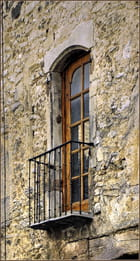 Détail de façade. - Serge AGOMBART