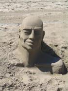 Sculpture de sable par David Malleval sur L'Internaute