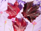 Feuilles rouges d'automne par   sur L'Internaute