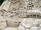 Sculpture de sable - patricia collart