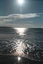 Soleil sur la mer -