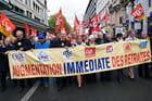 Manifestation des retraités - Laurent GARRIC