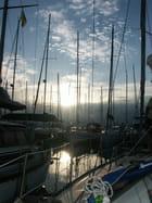 Coucher de Soleil sur le Port... - joseph tarable