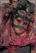 Masque vénitien à Stavelot - Raymond WIDAWSKI