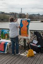 L'Artiste du Pont des Arts - ALAIN ROY