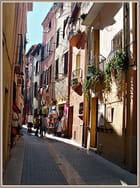 Une ruelle à Collioure - Floréal IBANEZ