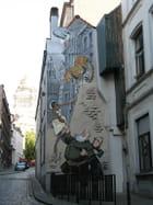 Peinture murale - Georgina VANDERMOSTEN