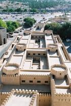 Vue aérienne du souk de Nizwa - Eric MASSON