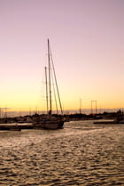 Voiliers dans le port - Chantal Surquin